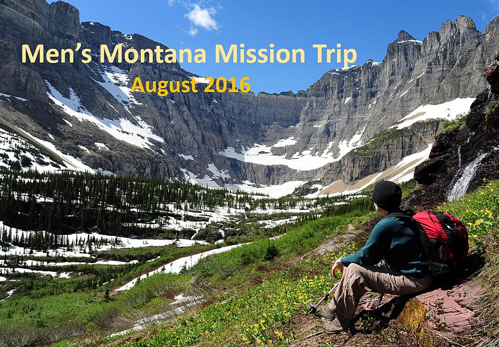 Men's Montana Mission Trip
