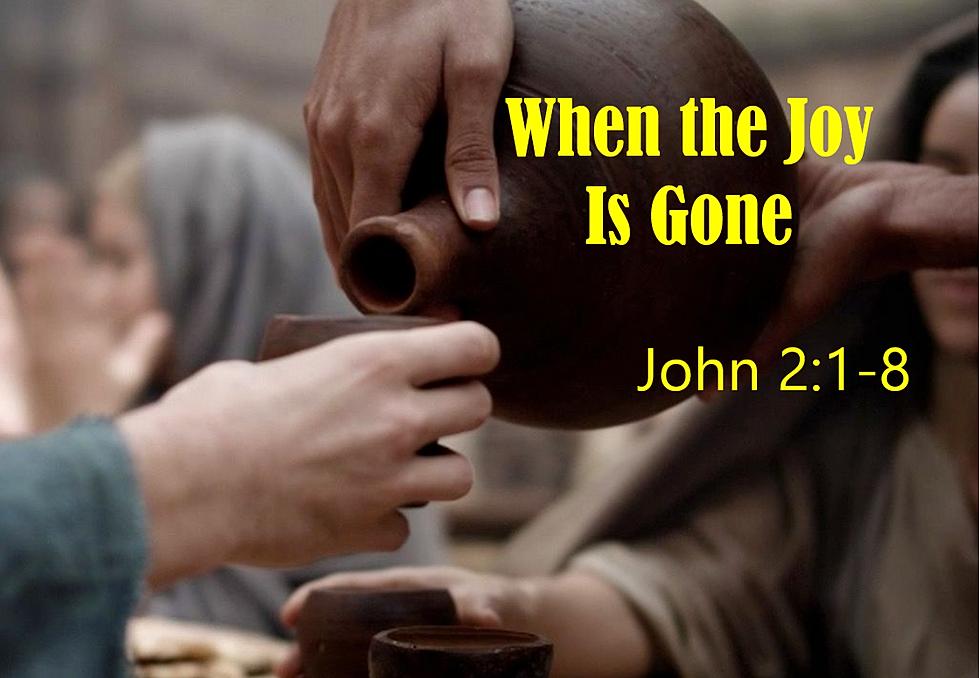 When the Joy is Gone