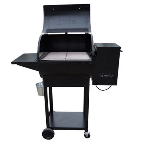 Thor Grill Temperature Control Smoke Wood Fired Barbeque BBQ Pellet Grill   HPG22