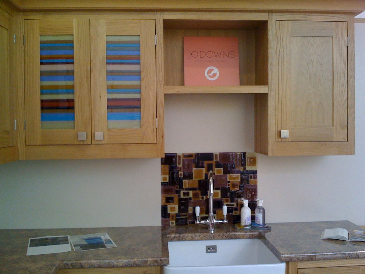 Jo downs glass design commissions Kitchen design shops exeter