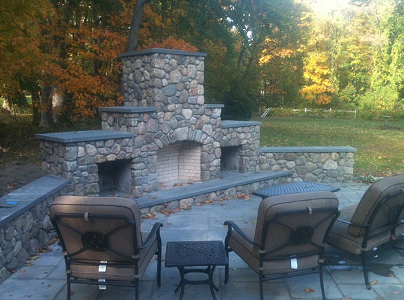 Outdoor Living Bennett Masonry Outdoor Fireplaces Fire Pits Patio