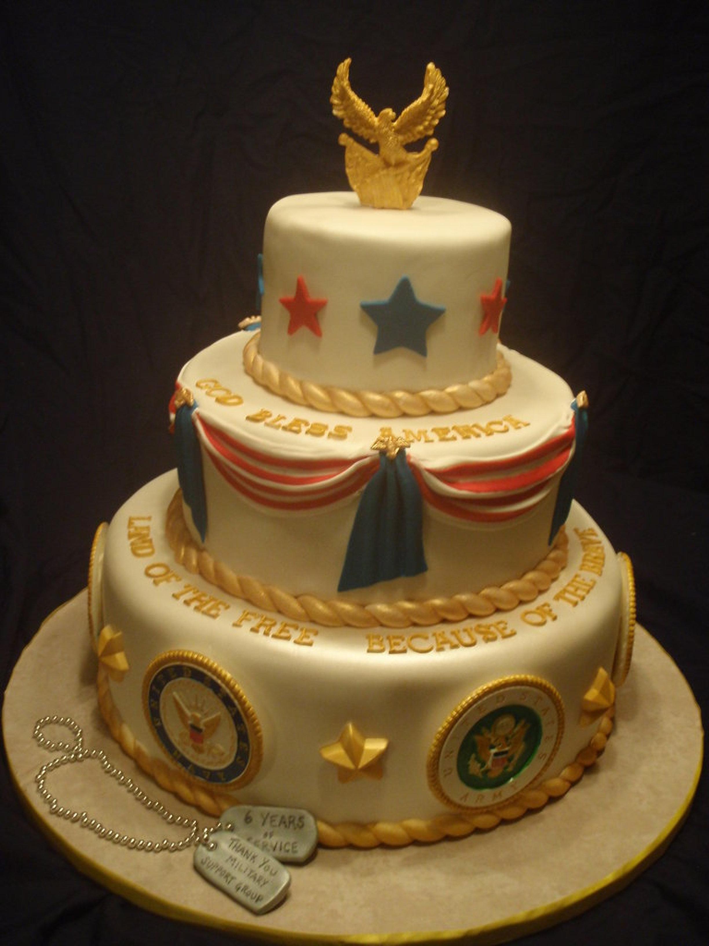 Cake Military