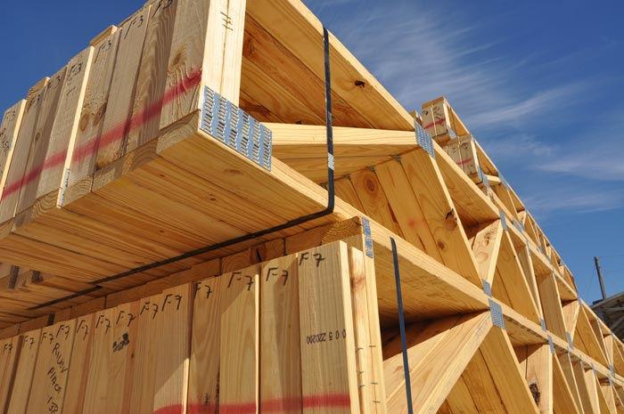 Terranova truss for Open web floor trusses
