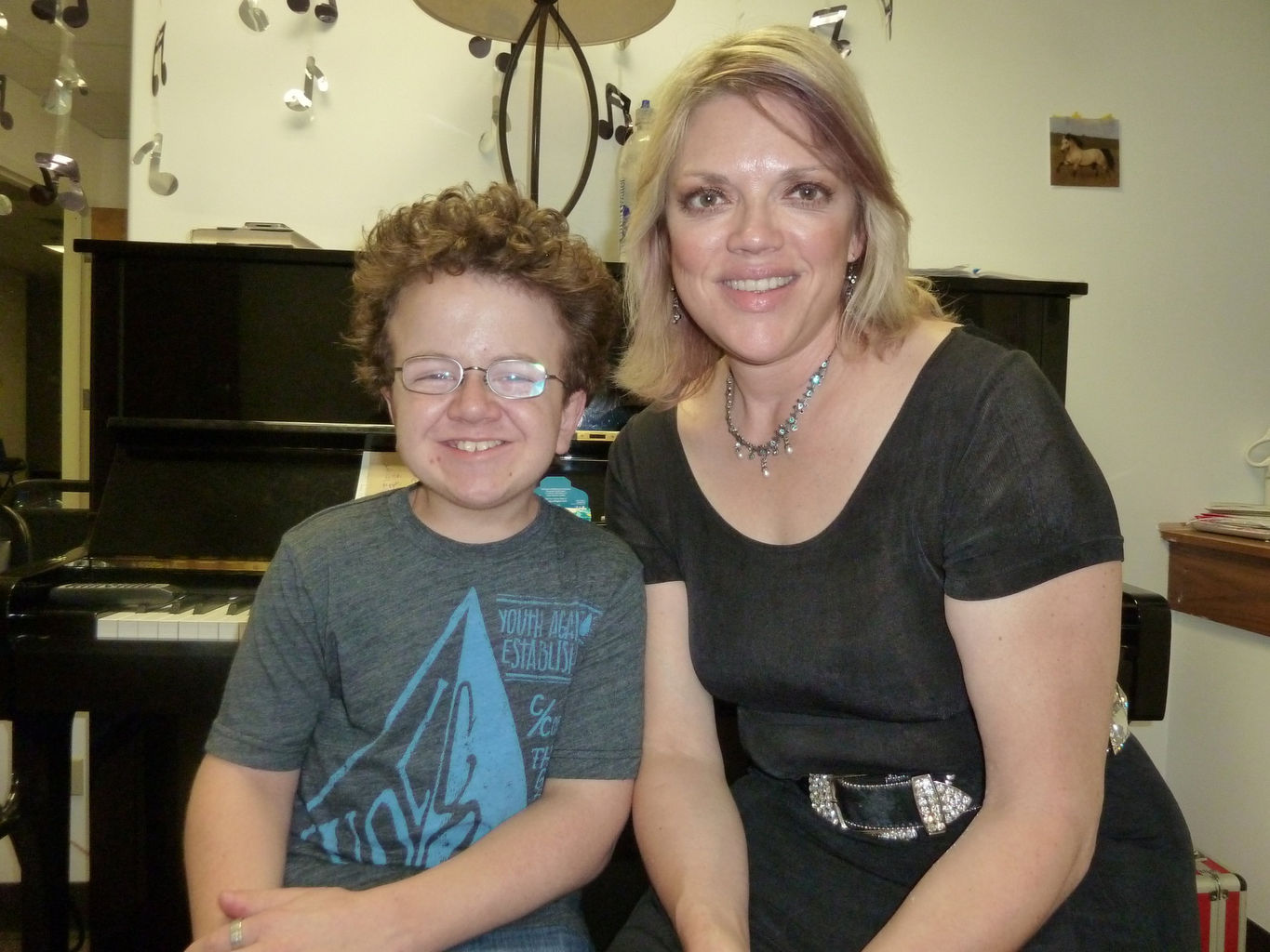 Tamara with Keenan Cahill