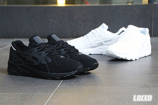 all white asics kayano