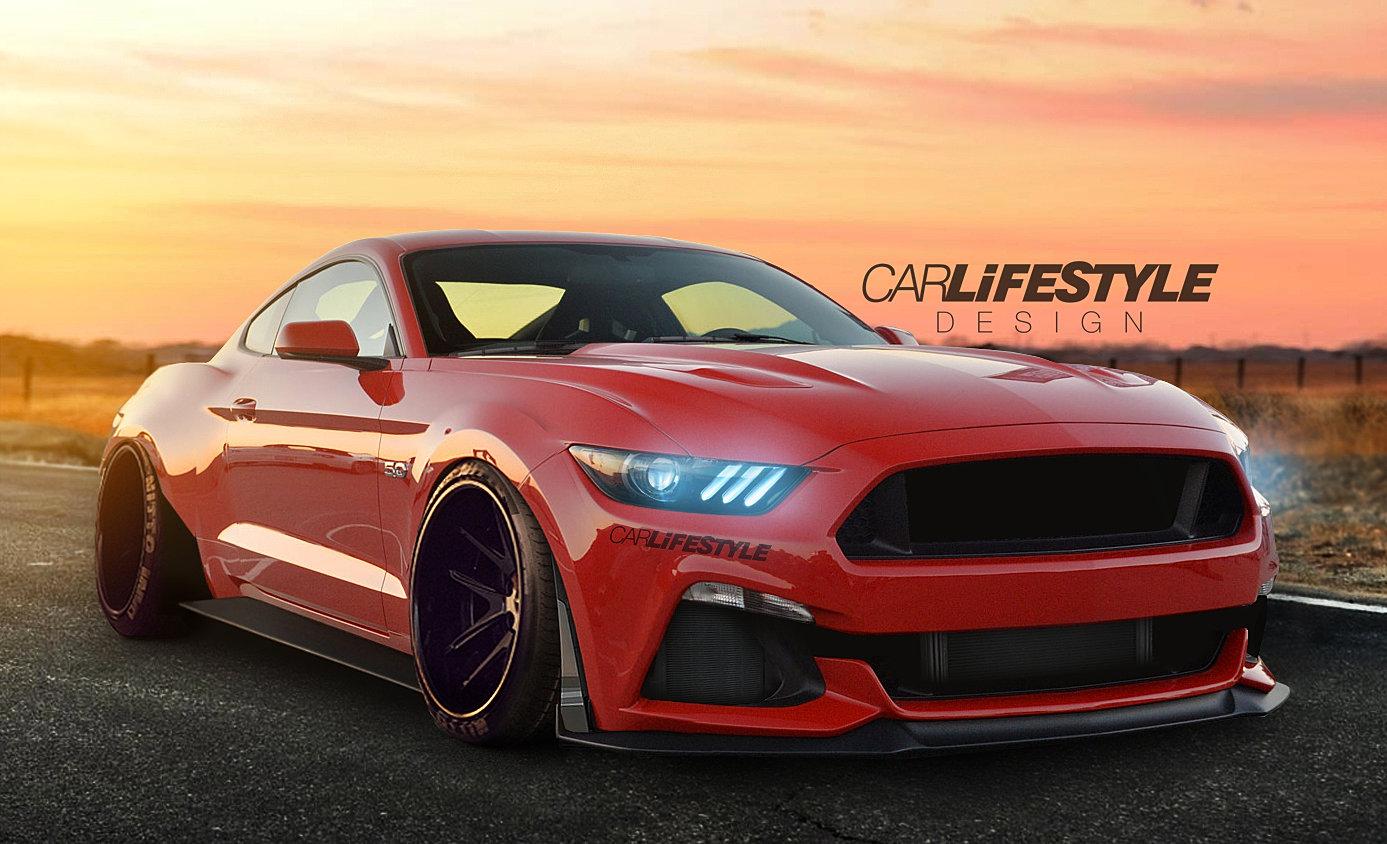 Widebody Mustang Gt Jpg
