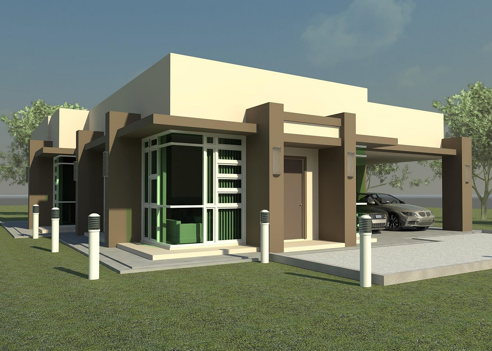 Bulawayo House Plan Design and Drafting - ^