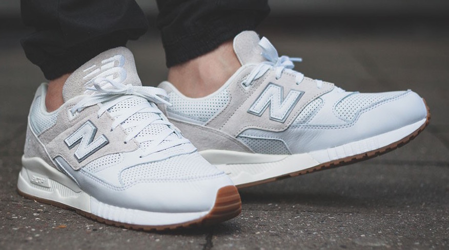 New Balance M530 ATA White/Blue | Accueil Sneakers Customs