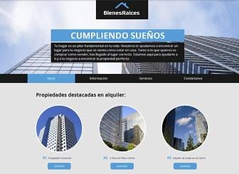 Inmobiliaria Template - Una plantilla web para empresas de calidad lista para tu negocio de inmuebles. Personalízala eligiendo colores, textos y mucho más.