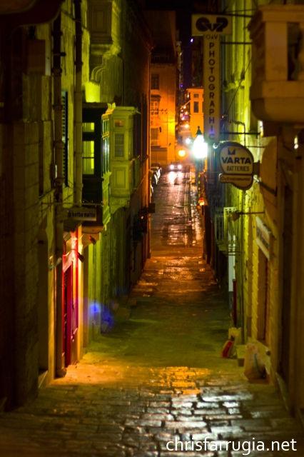 Street Valletta