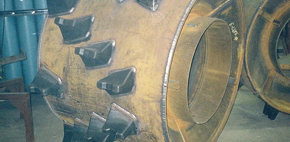 Terra Compactor Wheels : Terra compactor wheel dual helix