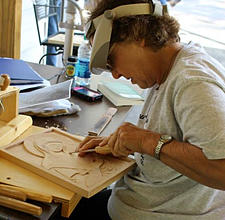 Hexaemeron Six Days of Creation Carving Workshop @ Diakonia Retreat Center | Salem | South Carolina | United States