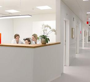 ecovivo Architektur  Ortho-Notfall Merian Iselin Klinik