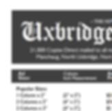 Uxbridge Times Ad Rates