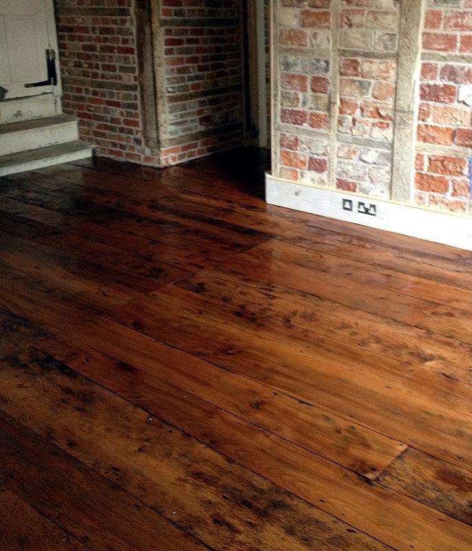 Original Oak Flooring - Antique Oak floorboards, Reclaimed ...
