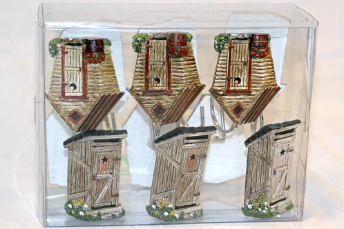 Outhouse Shower Curtain Hooks Mountain Home Collection Home Decor Art Supplies Crafts