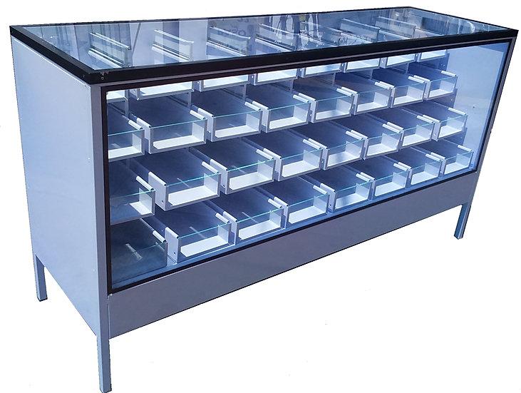 Estanter a sv f brica de anaqueles met licos exhibidores y for Fabrica de muebles metalicos