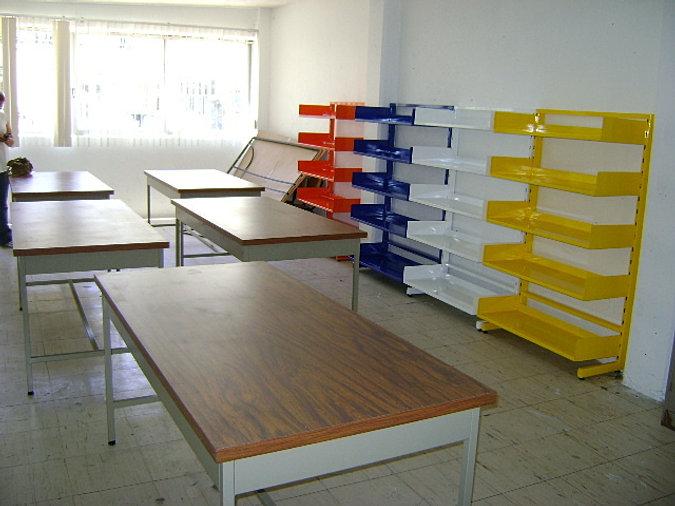 Fabrica de anaqueles met licos exhibidores y vitrinas en df for Fabrica de muebles metalicos