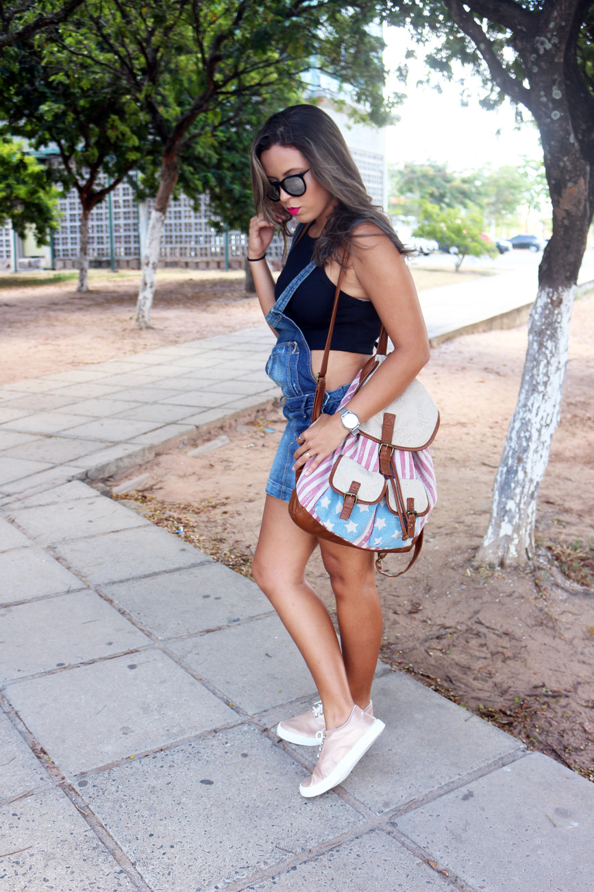 Well-known Look: Jardineira & Cropped | Blog Stillo e Charme PX48