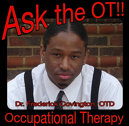 """Occupational Therapy Educational Material for Students/Parents"" icon"