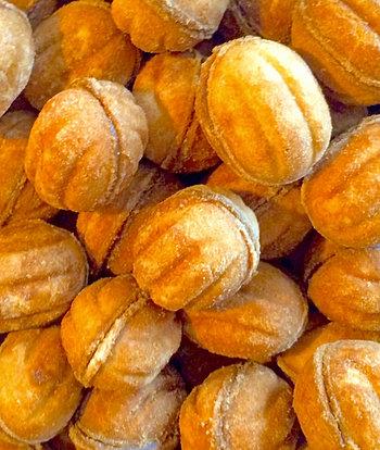 Орешки со сгущенкой рецепт с фото рассыпчатые