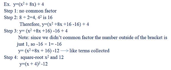 Quadratics Changing Equations