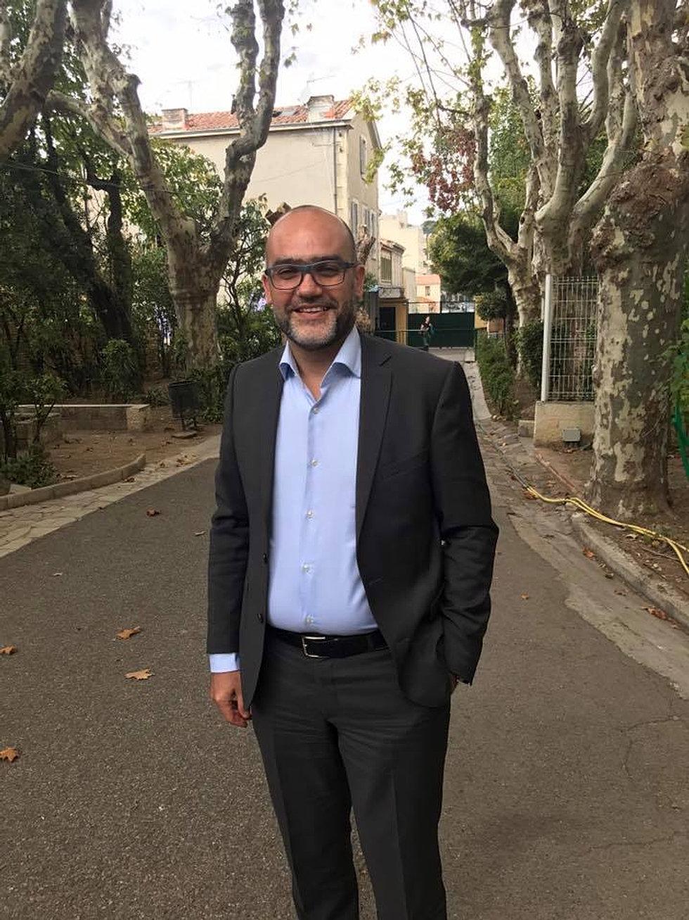 Visite de Daniel Benhaim