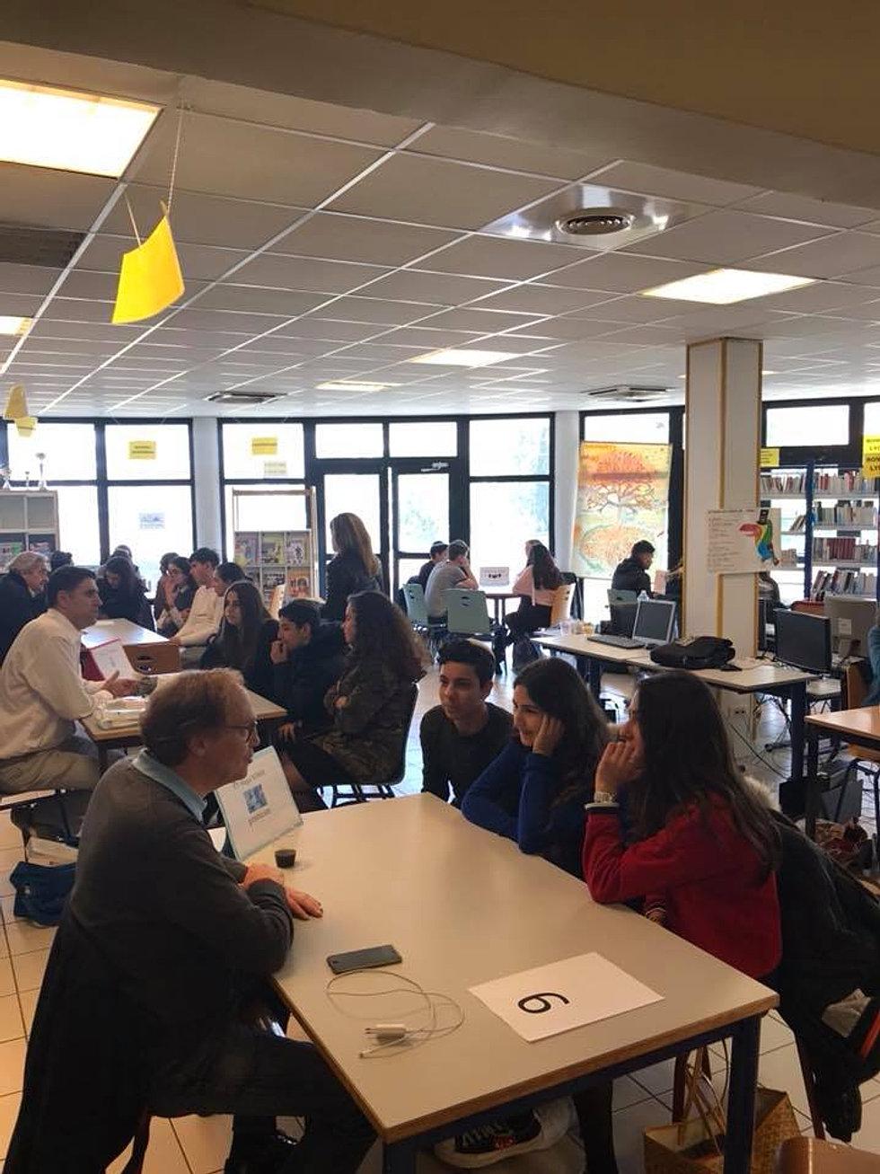 Salon des métiers pour nos élèves