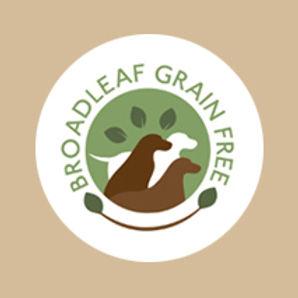 Broadleaf Grain Free Logo on paper bag.jpg
