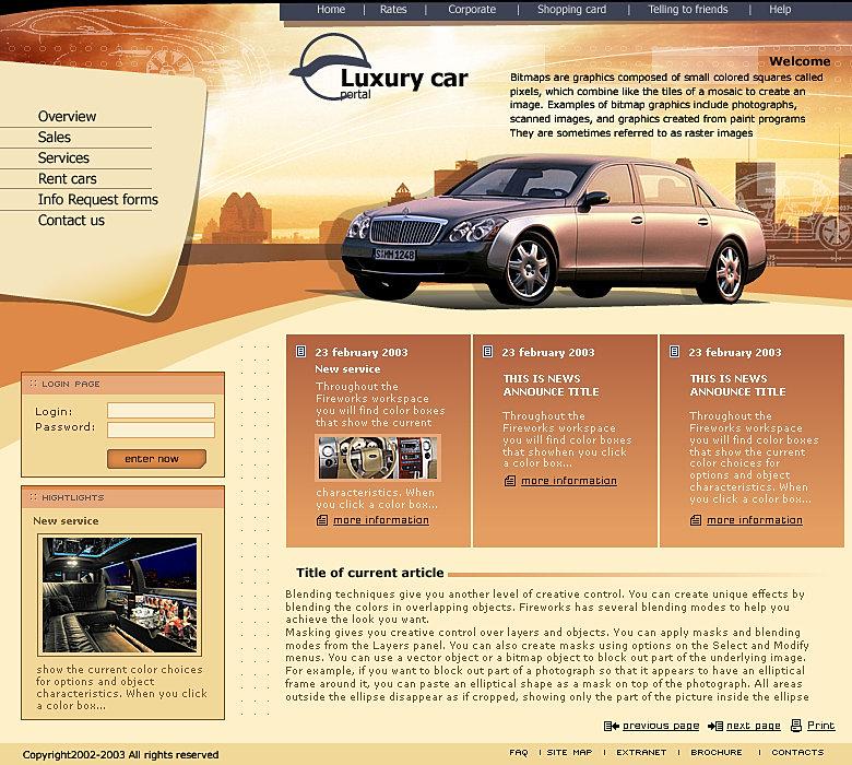 Сайт продажи дизайнов