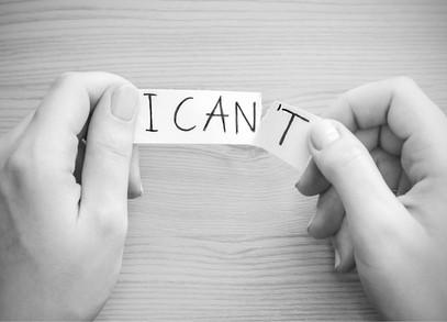 Don't Tell Me That I Can't | blog