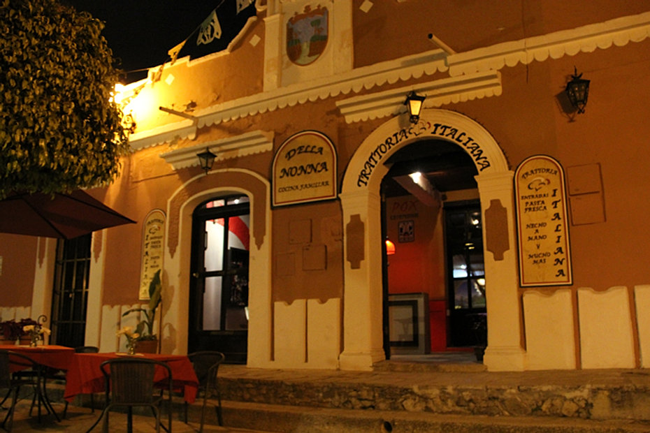 restaurante italiano san cristobal