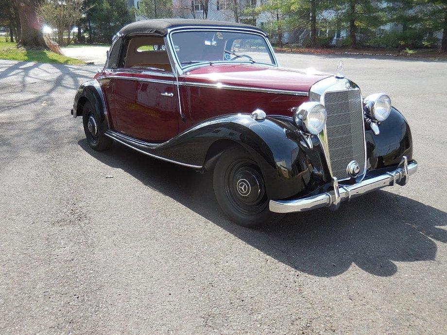 1949 mercedes benz 170s cabrio for 1949 mercedes benz