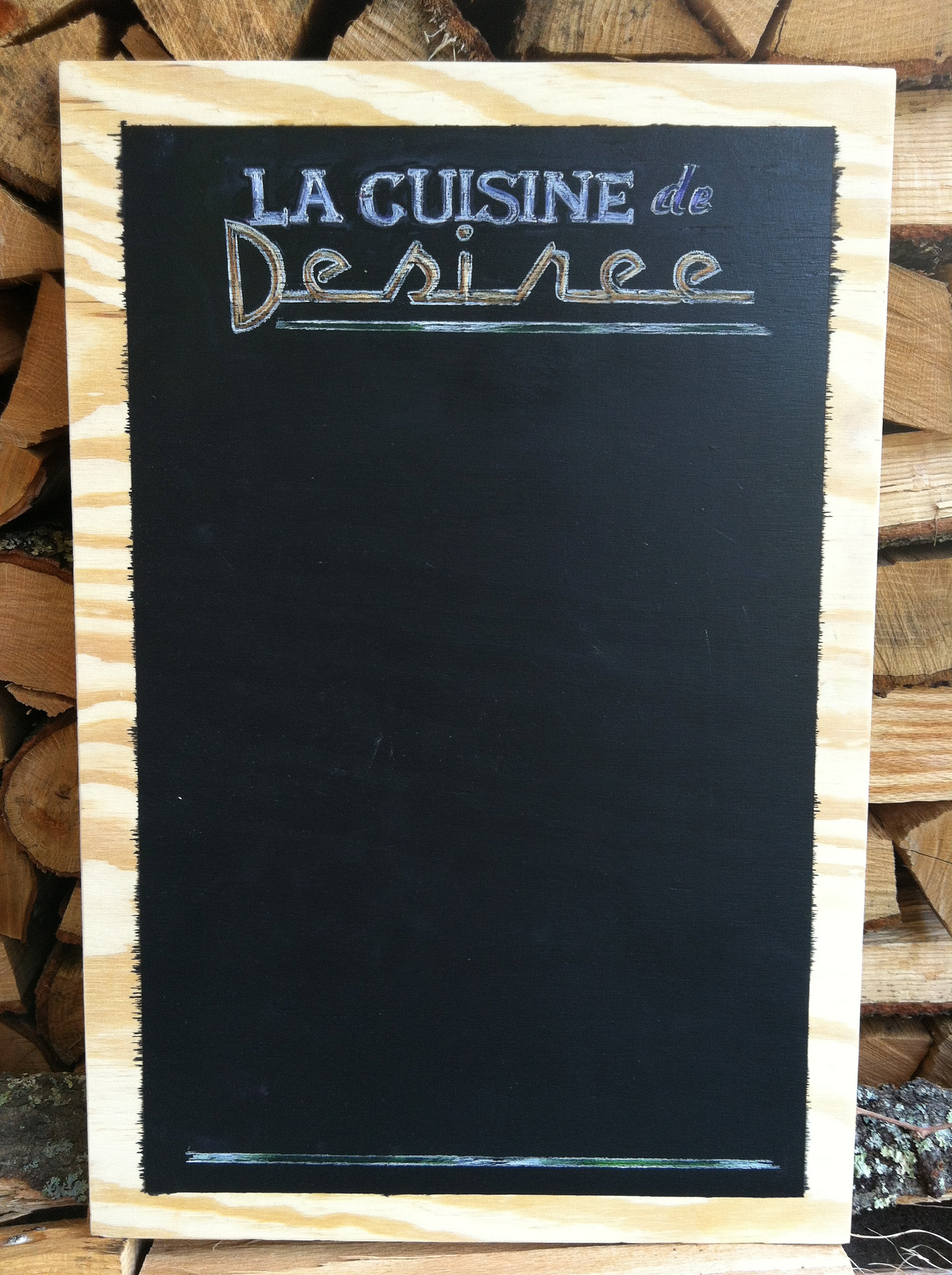 rachelsaloio | Personalized Kitchen Chalkboard