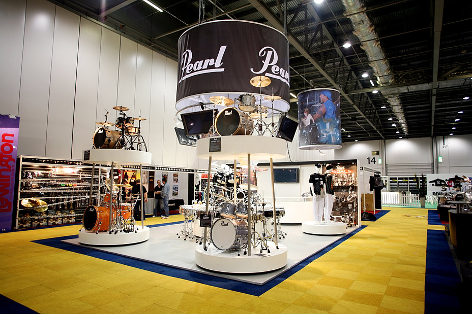 Glass Shed Exhibition Stand Design : Glass shed exhibition stand design pearl drums