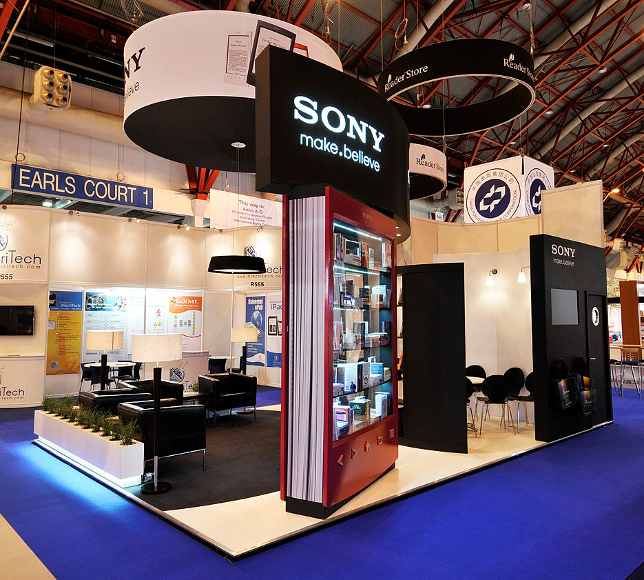 Glass Shed Exhibition Stand Design : Glass shed exhibition stand design for sony