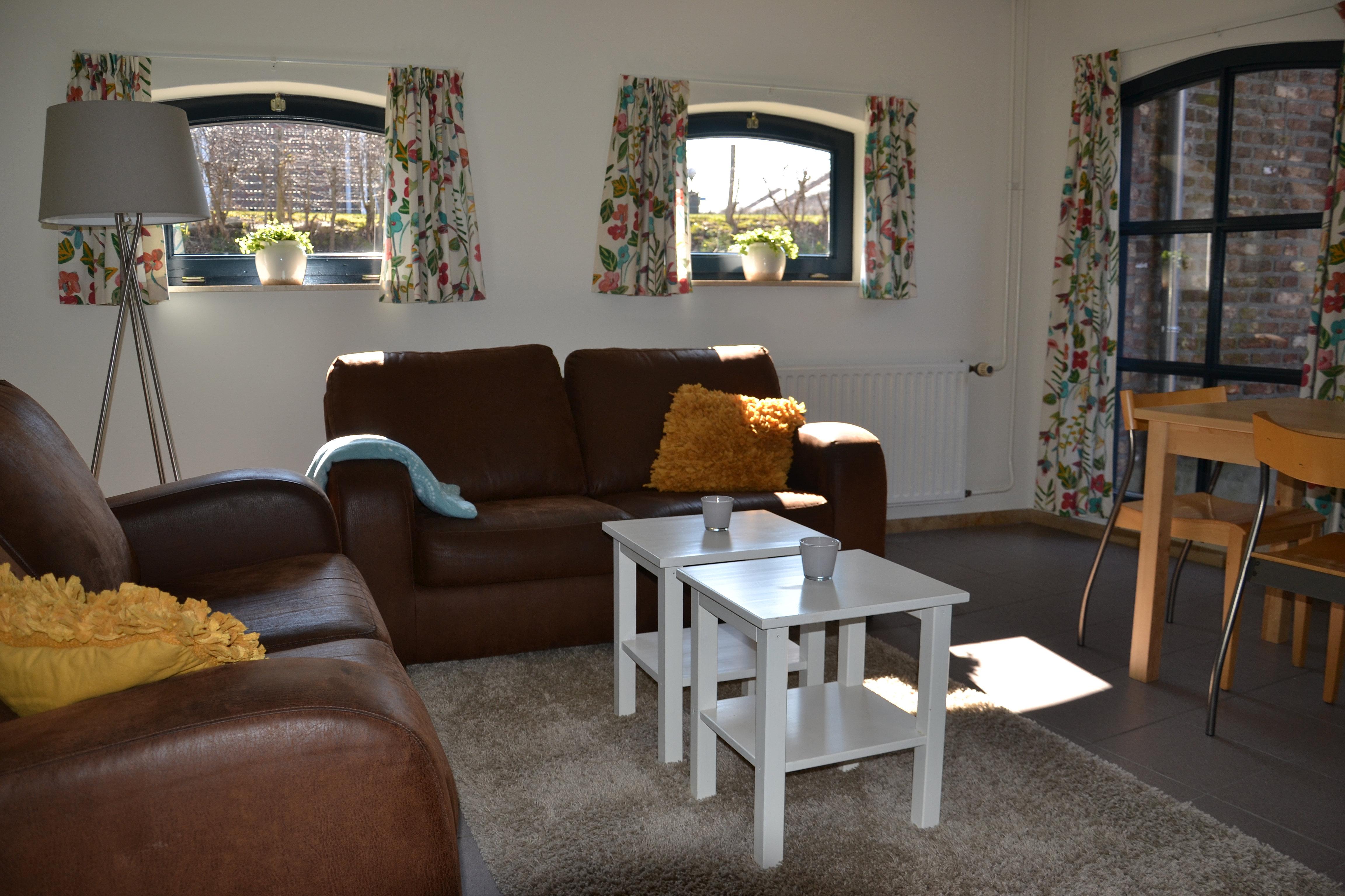 Vakantiewoningen de nelishof luxe logeren in een Gezellige woonkamer