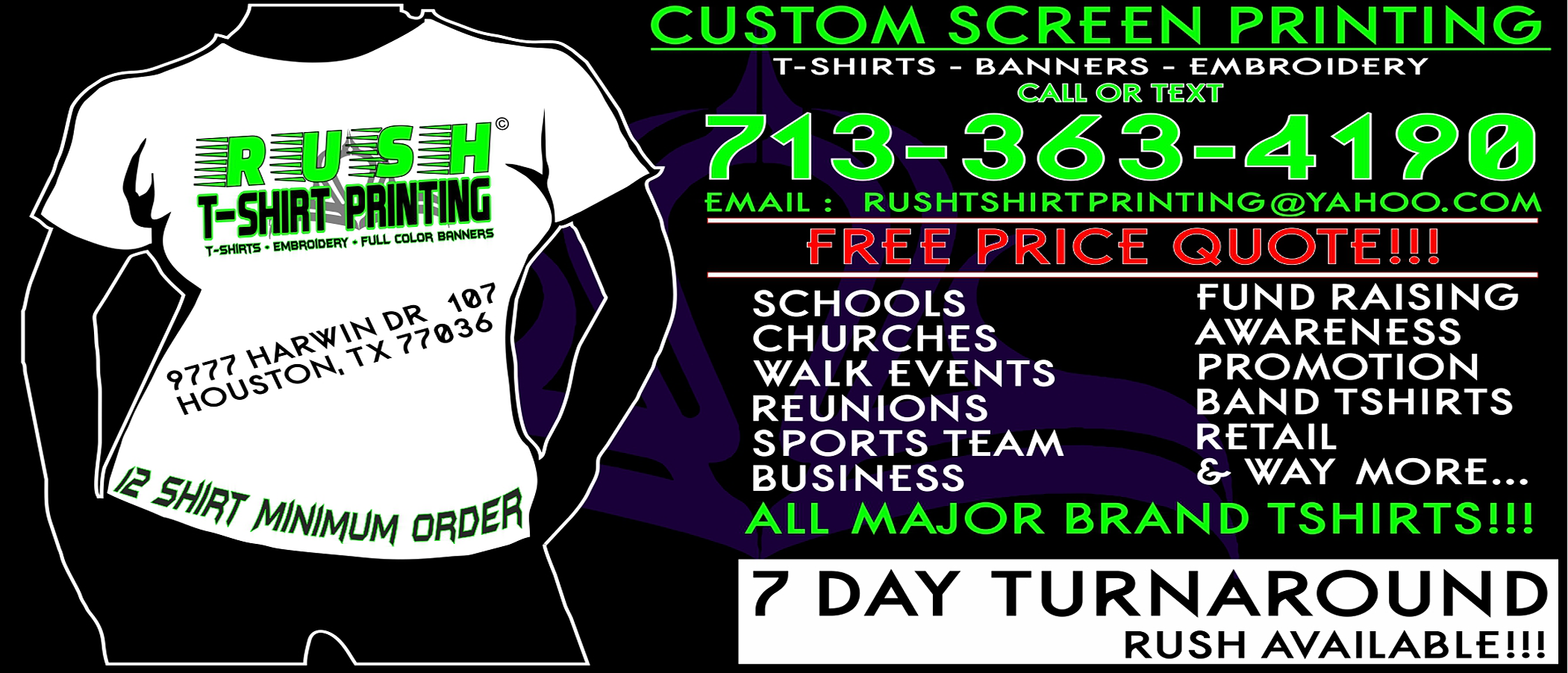 T shirt design katy tx