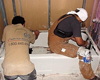 global solutions bathtub refinishing services