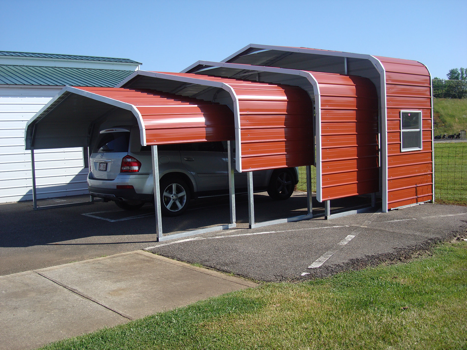 Custom Metal Carports : Custom metal buildings in nc