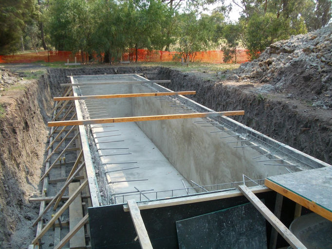 mitchcon concrete pumping spraying basements melbourne