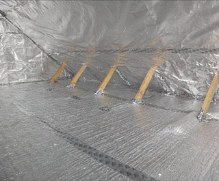 Radiant barrier insulation superior roofing for Best sound barrier insulation