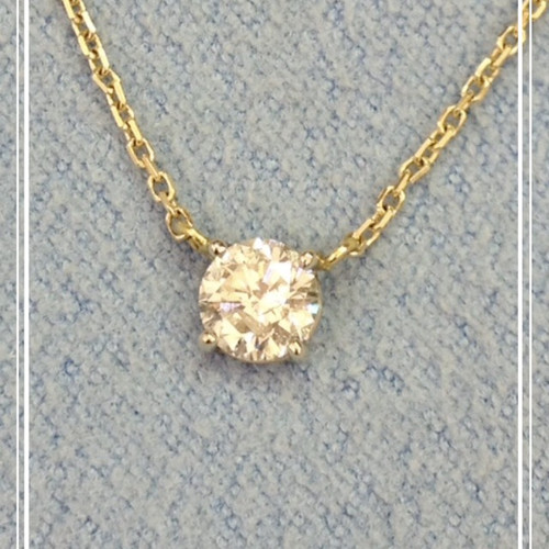 Larouche diamonds pendants and necklaces 40cts yellow gold diamond pendant mozeypictures Images