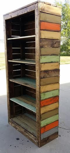 Creative Woodworking Bookcase Plans Pallets PDF Free Download