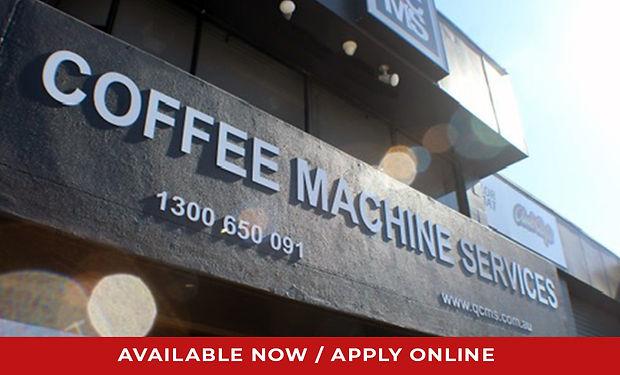 Coffee Machine & Appliance Technician Jo