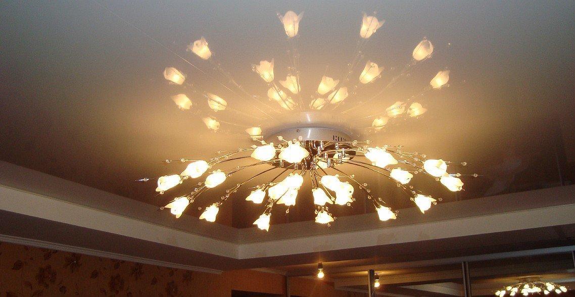 Натяжные потолки саратов фото