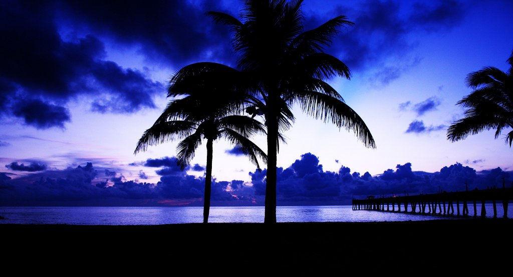 Blue Sunrise and Pier