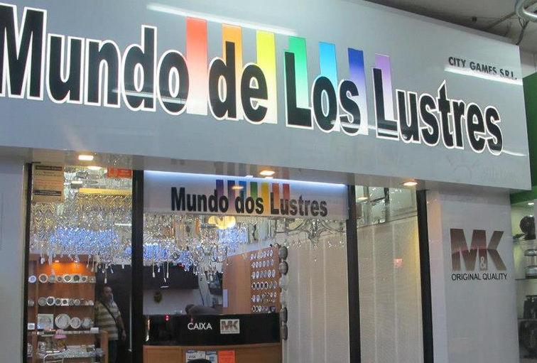 loja de iluminacao no jardim botanico:MUNDO DOS LUSTRES, Ciudad Del Este – Paraguay : Lustres, Luminarias e