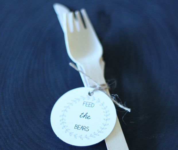 Bespoke My Heart Roosevelt Island Party Supplies - Hand-Made Utensils