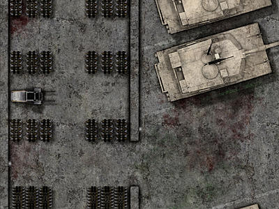 Preview of the 4th level of the Ancient Military Bunker
